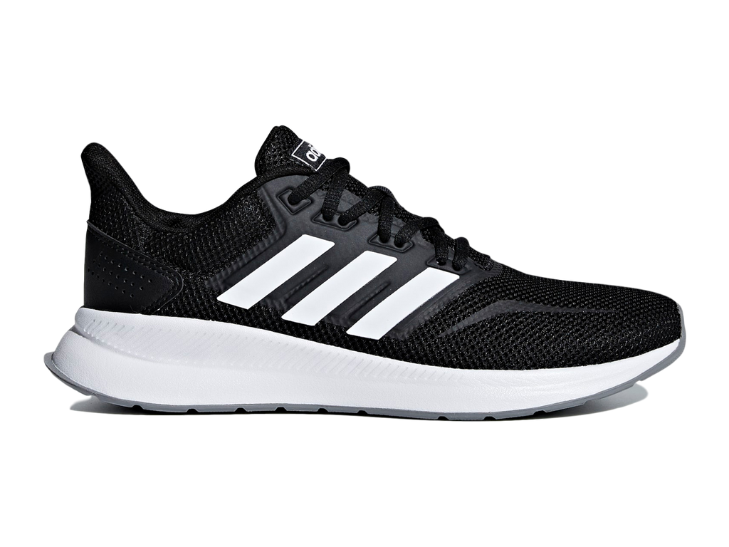 ADIDAS WOMENS RUNFALCON BLACK/WHITE <BR>F36218