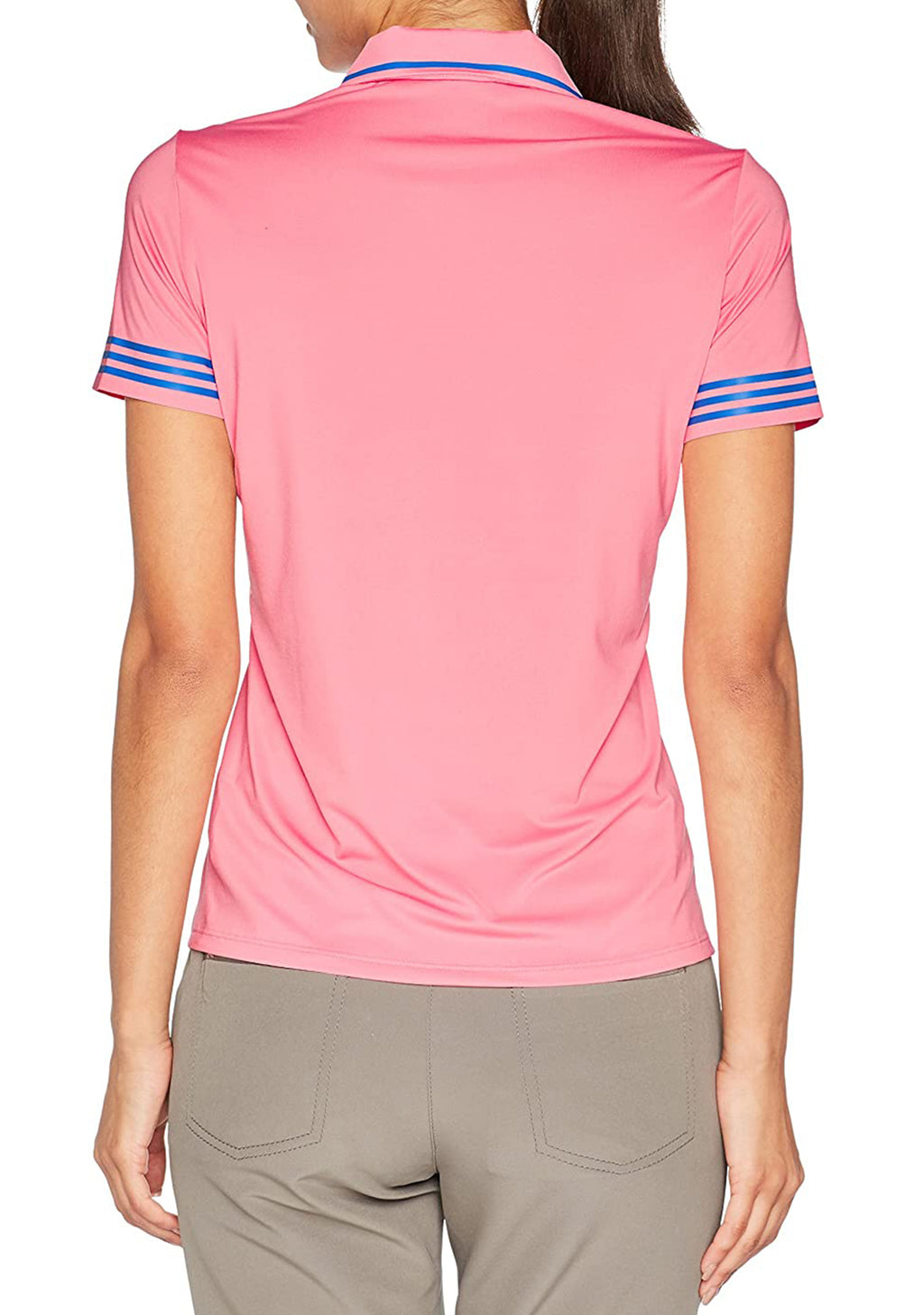 ADIDAS WOMENS SHORT SLEEVE POLO <BR> BC2737
