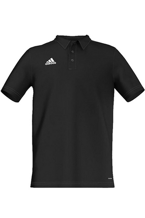 ADIDAS COREF CL POLO JUNIOR BLACK <br> S22381,- Jim Kidd Sports