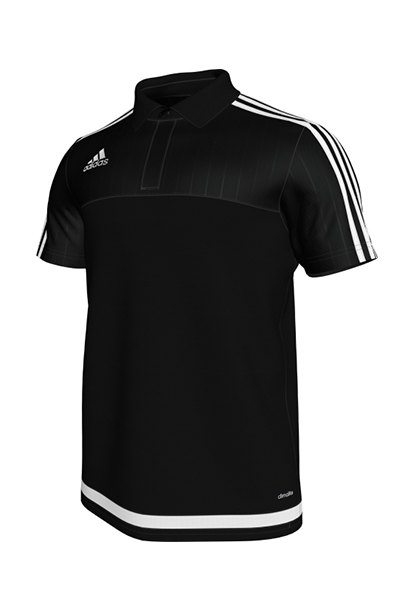 ADIDAS TIRO 15 CL POLO JUNIOR BLACK <br> S22446,- Jim Kidd Sports