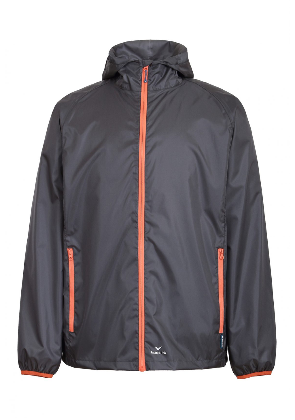 RAINBIRD UNISEX ADULTS GOSTOW RAIN JACKET <BR> 8531 GRANITE FLAME