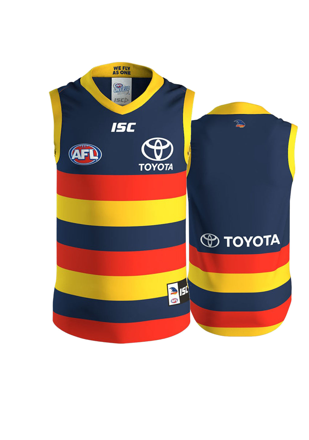 ISC ADELAIDE CROWS 2019 KIDS HOME GUERNSEY <BR> AC19JSY01K