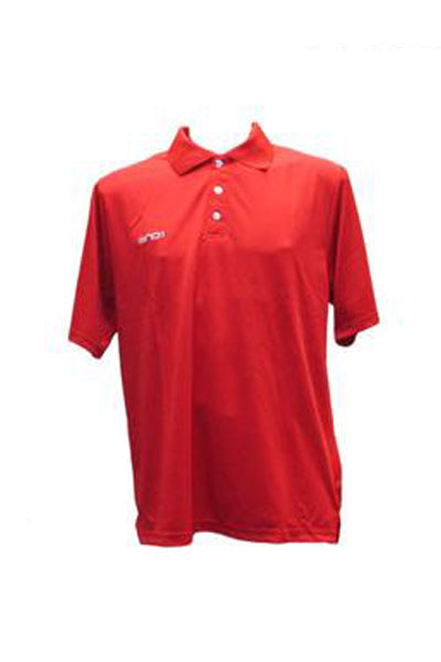 AND 1 PERFORMANCE POLO MENS <br> A1PERF-RED,- Jim Kidd Sports
