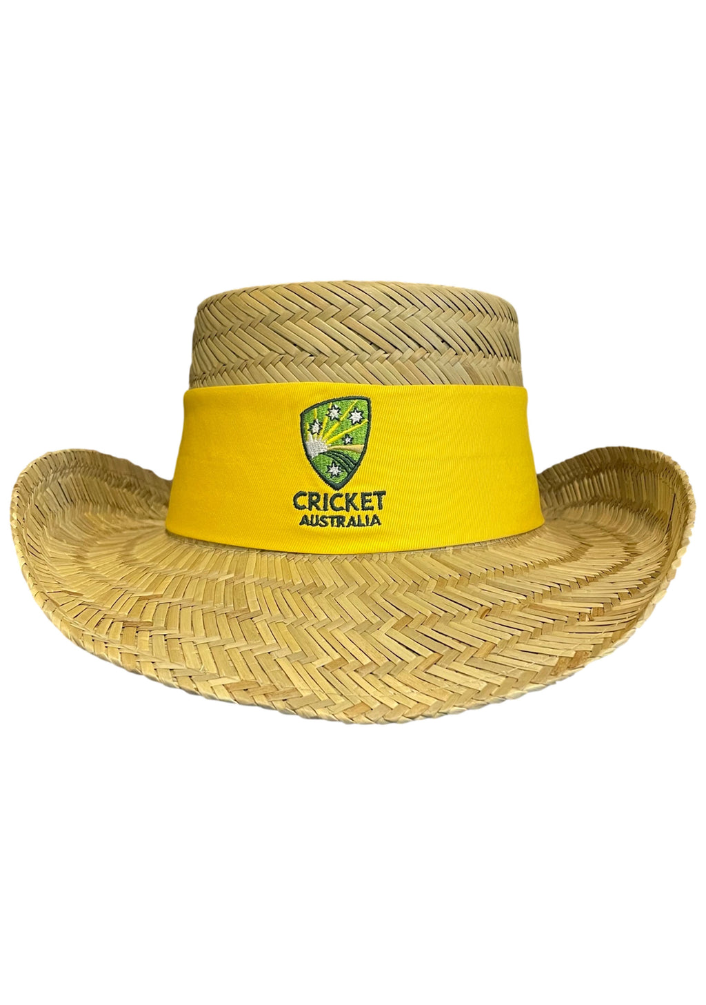 ASICS CRICKET CAS STRAW HAT <BR> CSSH1517 1002