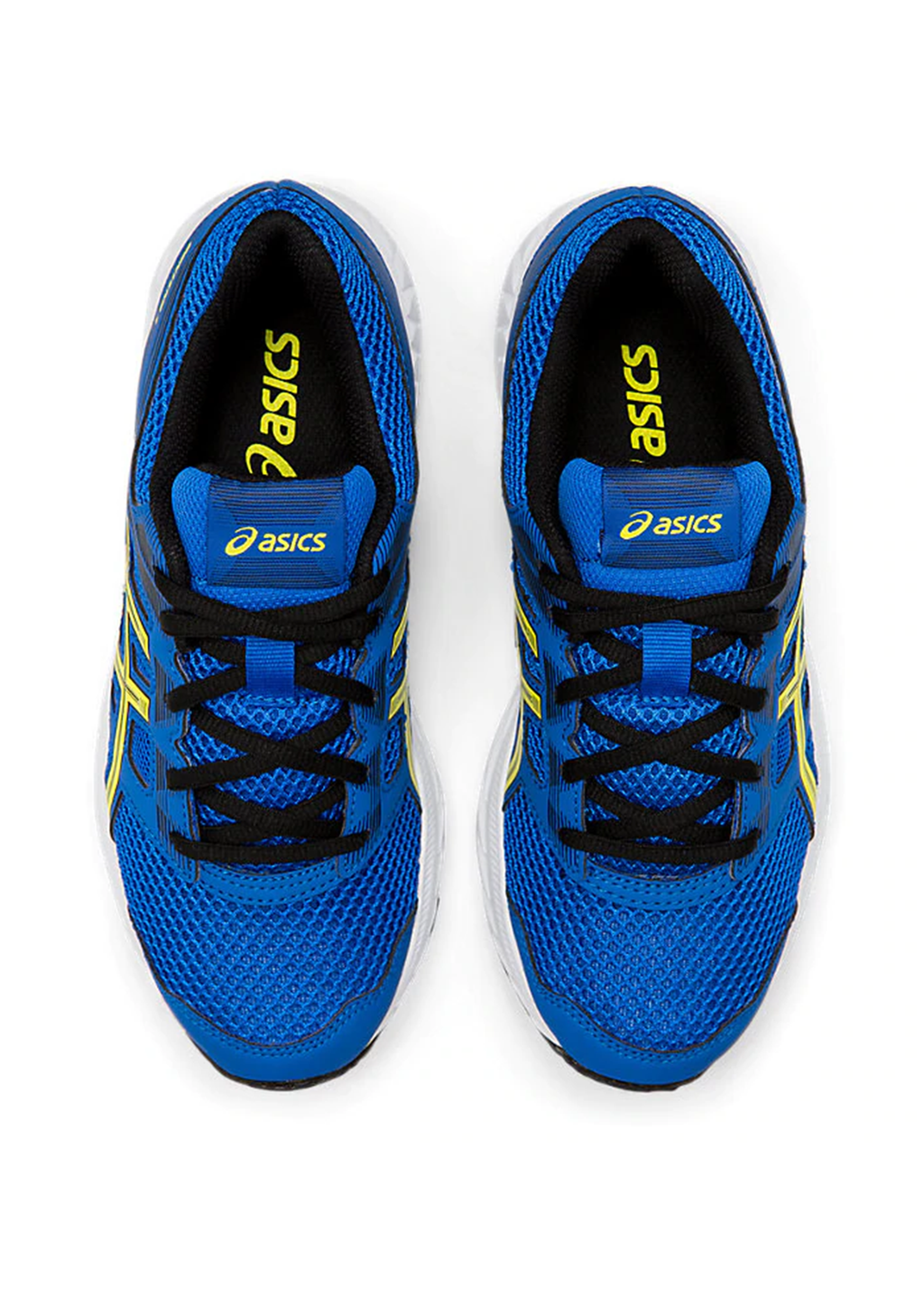 ASICS JUNIOR GEL CONTEND 5 GS WITH FREE AQUA SLIDES <BR> 1014A049 401