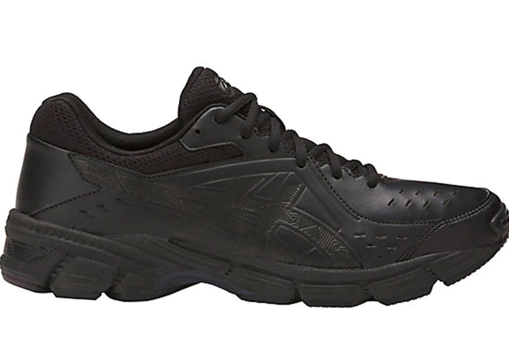 ASICS MENS GEL-195TR LEATHER (2E WIDTH) <BR> S709Y 9090