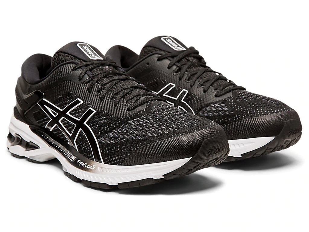 ASICS MENS GEL KAYANO 26 WITH FREE ASICS SLIDES <BR> 1011A541 001