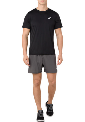 ASICS MENS SILVER SHORT SLEEVE TOP <br> 2011A006 001