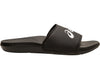 ASICS UNISEX SLIDES AS003 BLACK/WHITE <BR> 1173A006 001