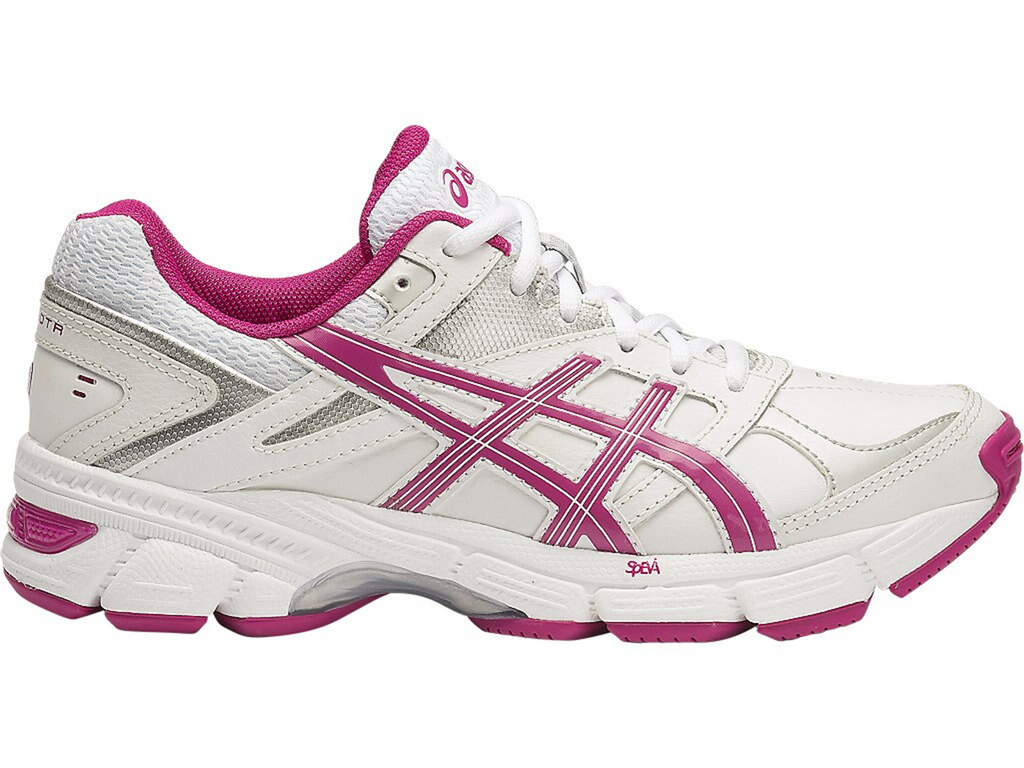 ASICS WOMENS GEL 190TR LEATHER (D WIDTH) <br> S573L 10121