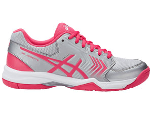 ASICS WOMENS GEL-DEDICATE 5 (COURT SHOE) <BR> E757Y 9319