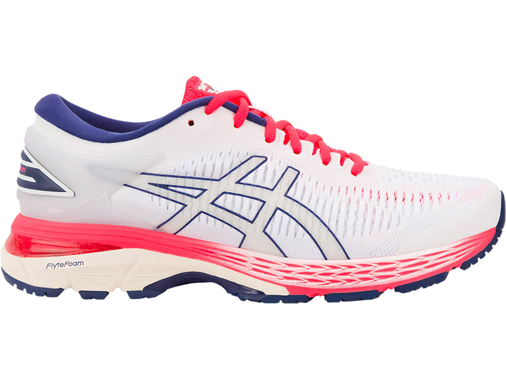 ASICS WOMENS GEL KAYANO 25 <br> 1012A026 100