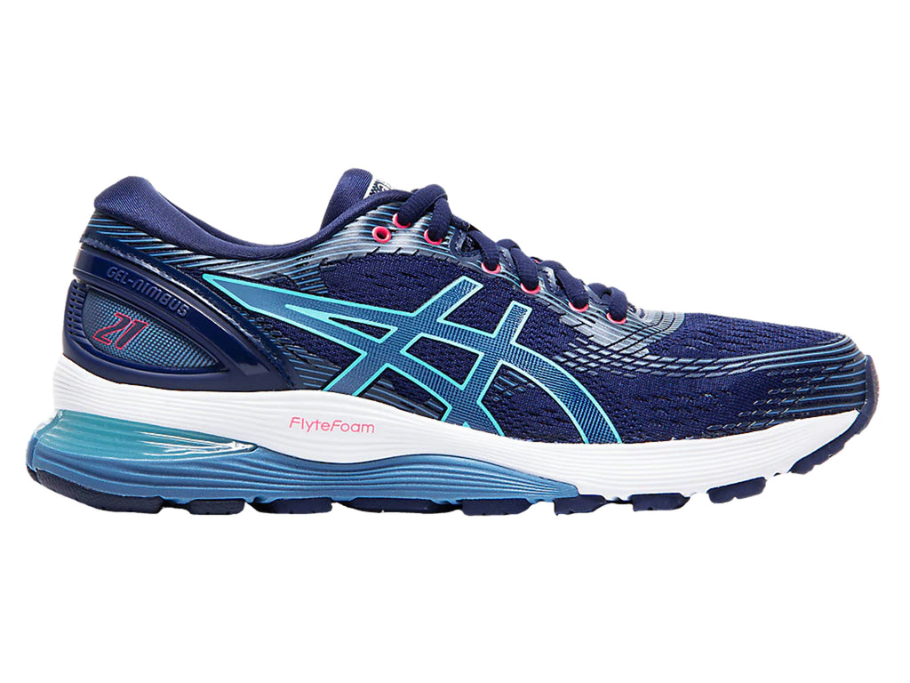 ASICS WOMENS GEL NIMBUS 21 <br> 1012A156 401