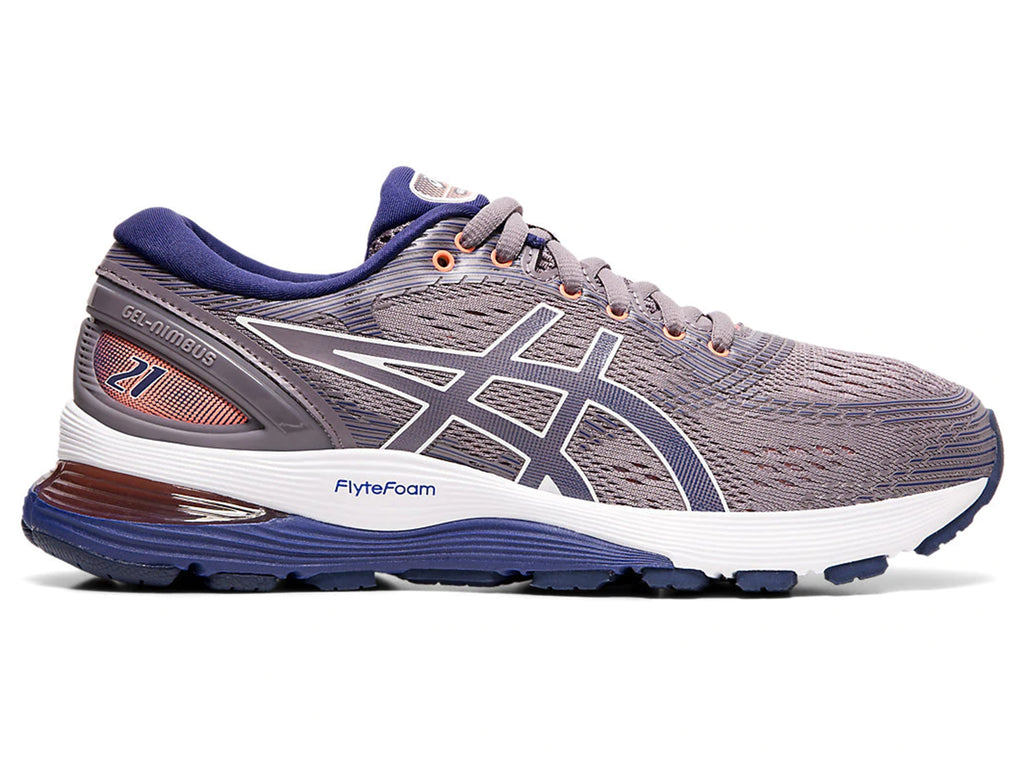 ASICS WOMENS GEL NIMBUS 21 <br> 1012A156 500