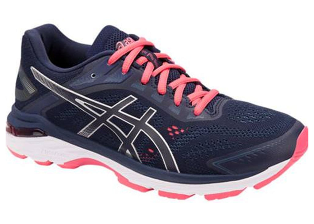 ASICS WOMENS GT 2000 7 (D WIDTH) (SIZES 12 + 13 ONLY) <BR> 1012A146 401