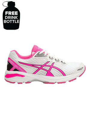 ASICS GT 1000 5 GS JUNIOR WITH FREE 1L BOTTLE <br> C619N 0120
