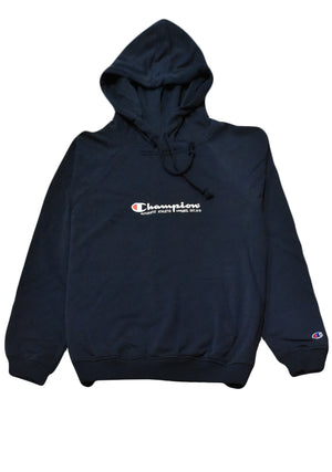 CHAMPION MENS LIGHTWEIGHT FRENCH TERRY HOODIE <BR> AWNGN