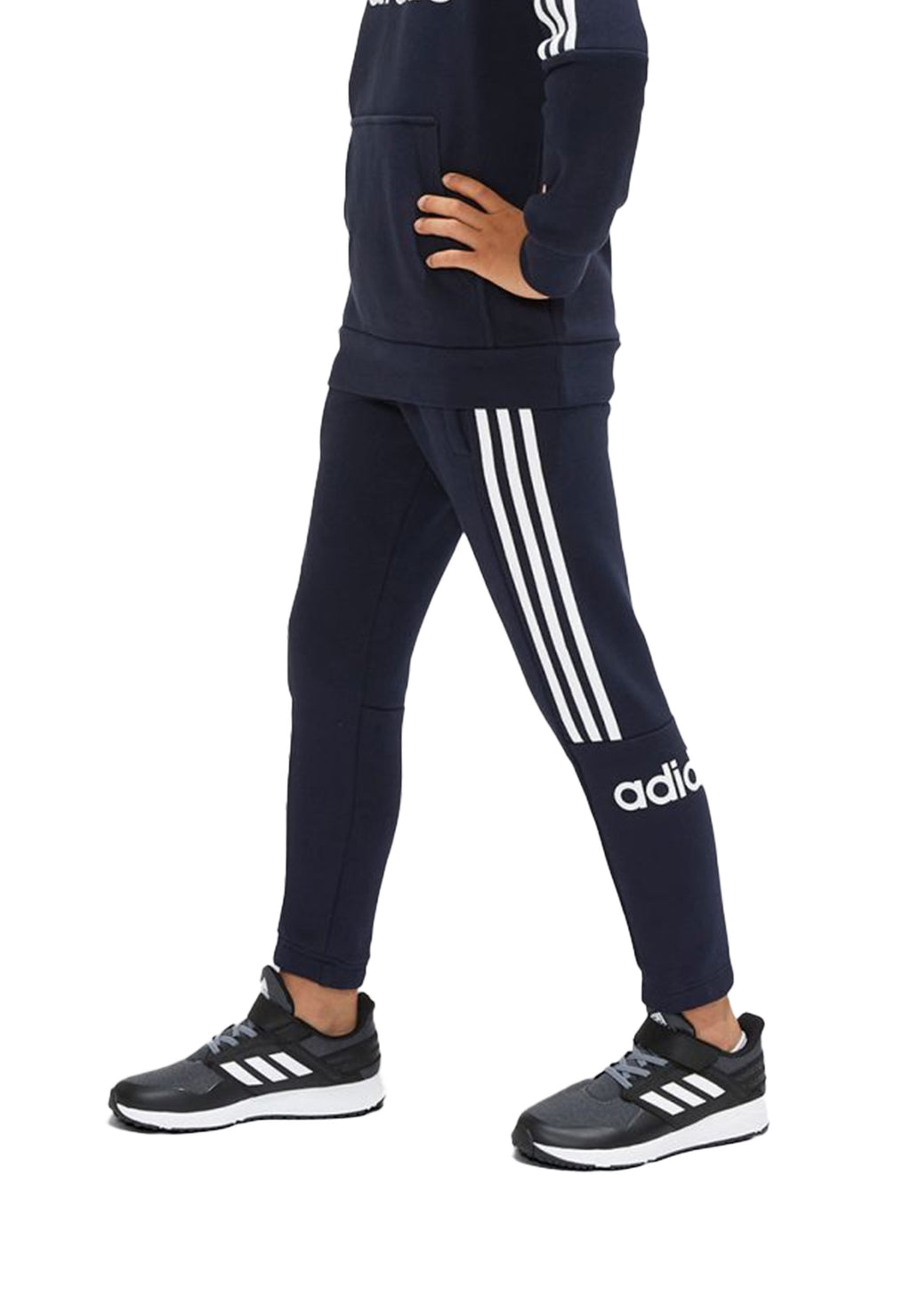 ADIDAS JUNIOR 3 STRIPES JOGGER PANTS <br> EI7980