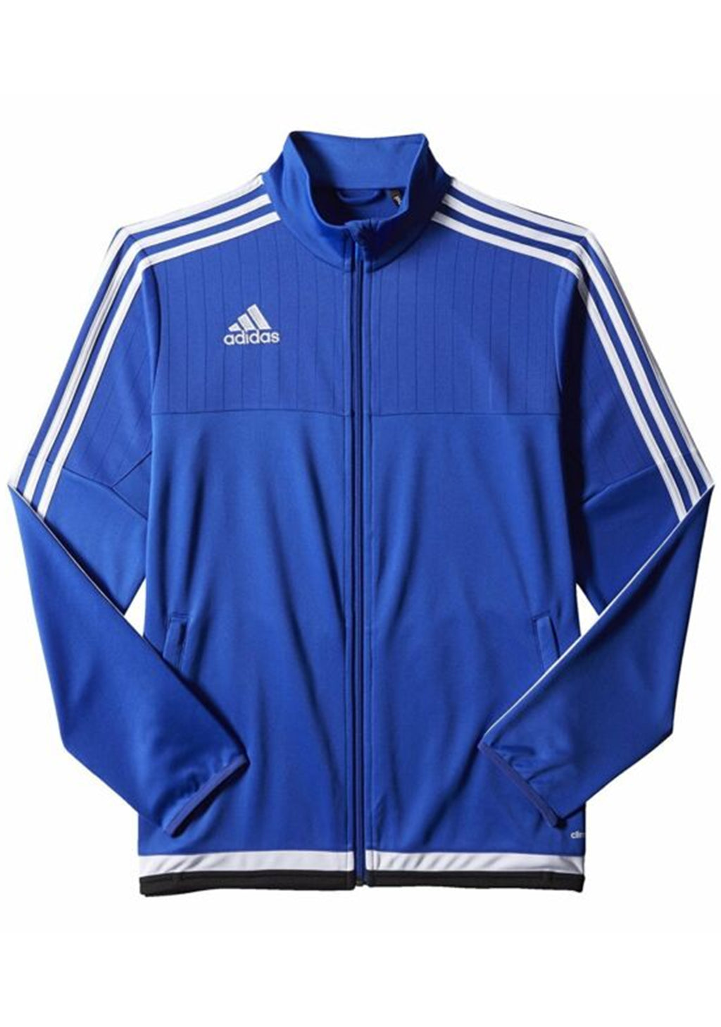 ADIDAS MENS TIRO 15 TRAINING JACKET BLUE <BR> S22317