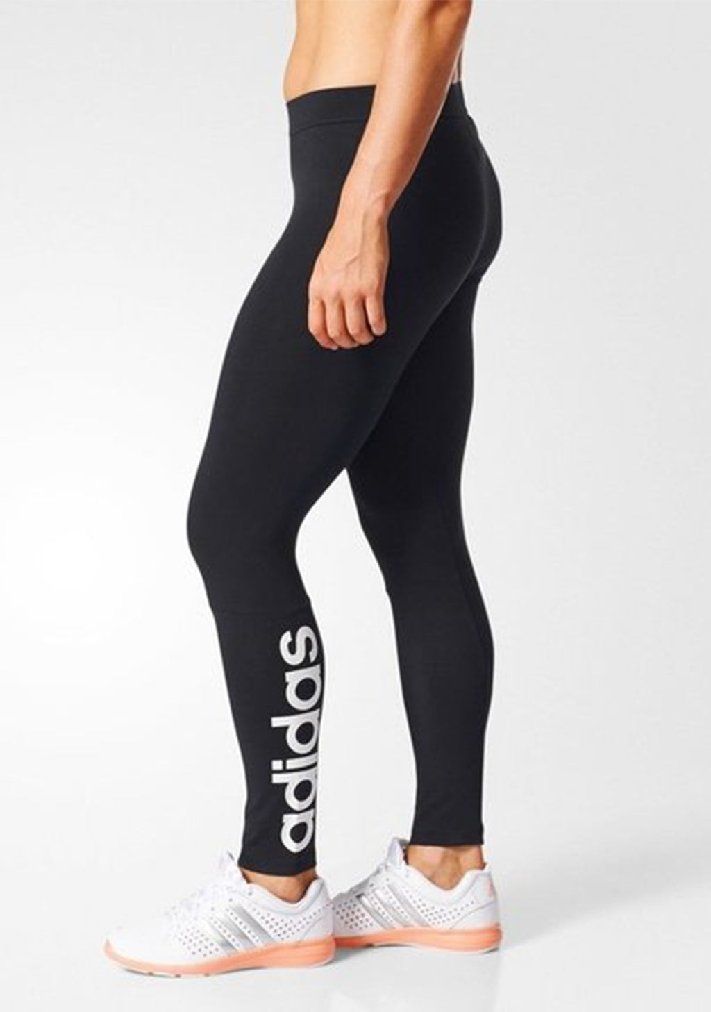 ADIDAS ESSENTIAL LINEAR TIGHTS WOMENS <br> S97155