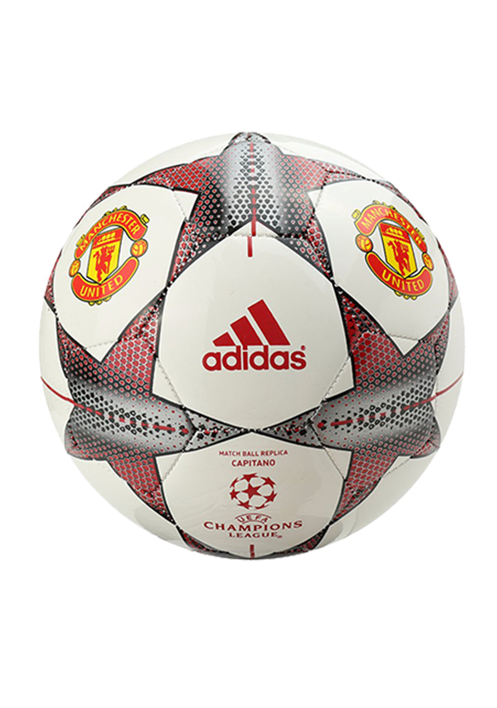 ADIDAS MANCHESTER UNITED CAPITANO MATCH BALL REPLICA <BR> AC2395