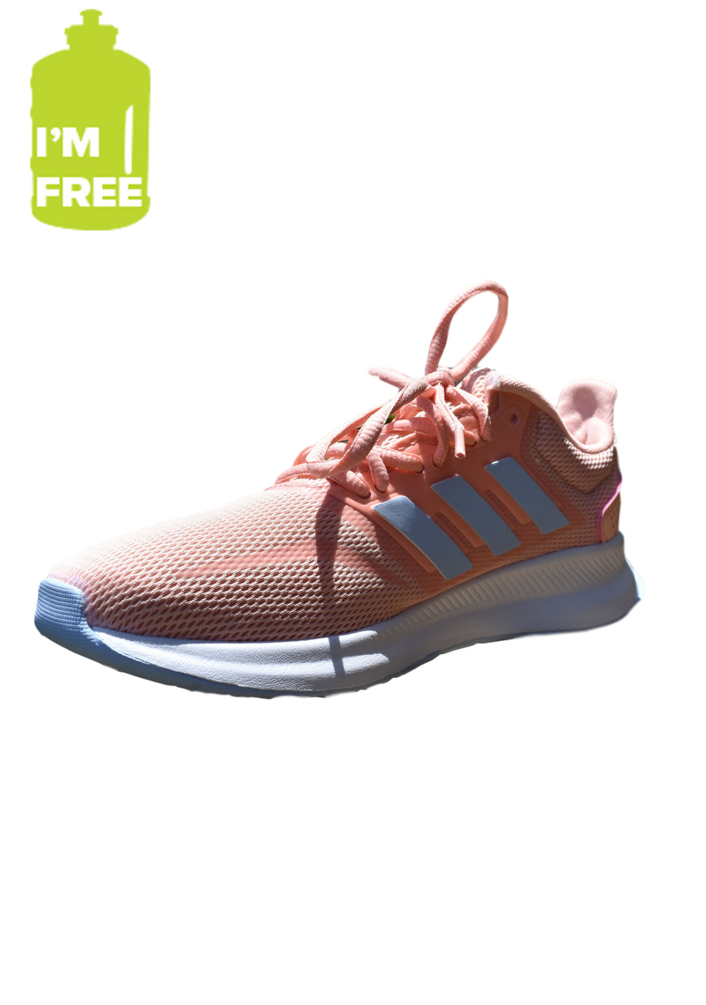 ADIDAS WOMENS RUNFALCON WITH FREE 2L WATER BOTTLE <BR> EG9032