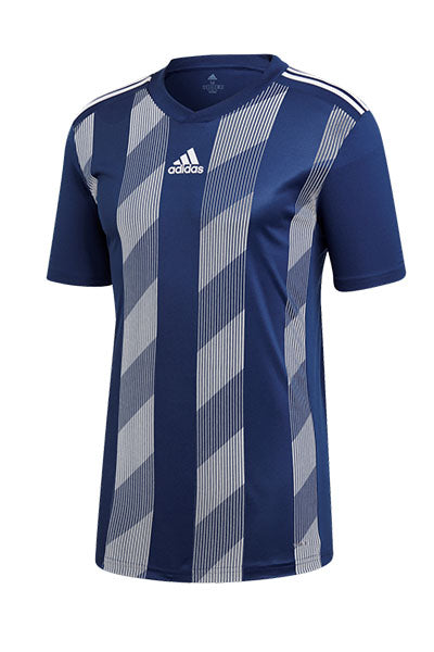 ADIDAS STRIPED 19 JERSEY JUNIOR DARK BLUE/WHITE <br> DP3201