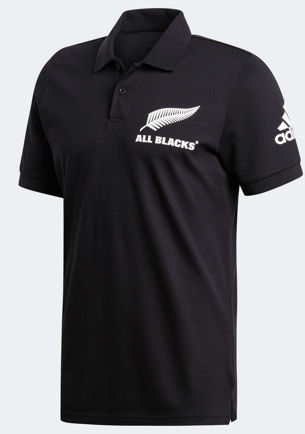 ADIDAS MENS NEW ZEALAND ALL BLACKS SUPPORTER POLO <BR> DY3830