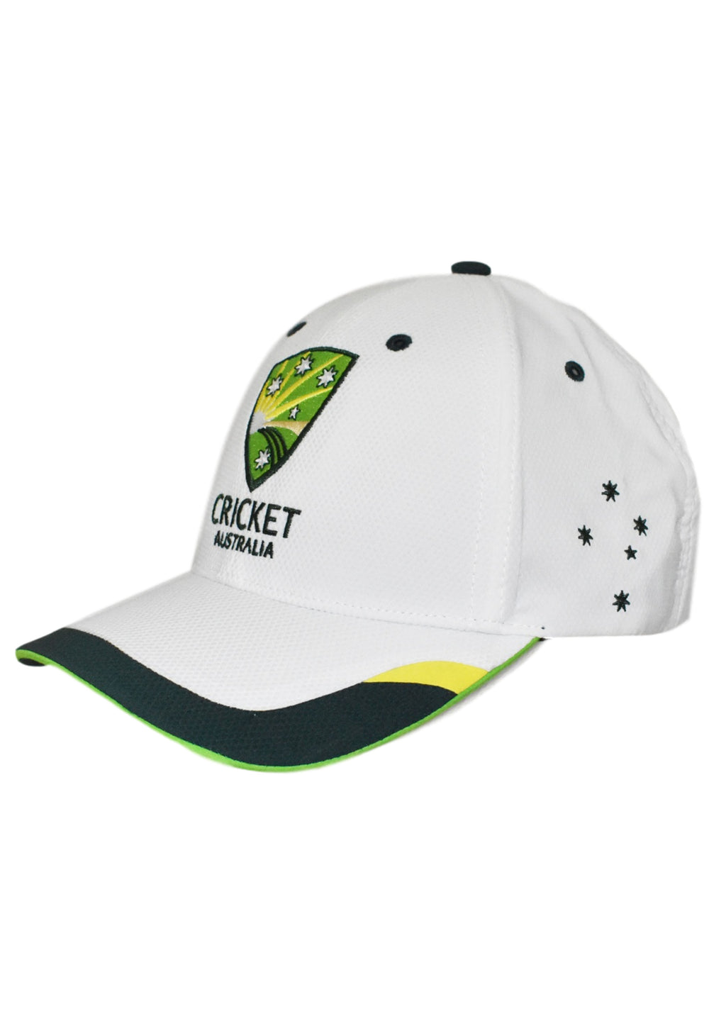 ASICS CRICKET AUSTRALIA FITTED REPLICA TRAINING CAP <br> CAMR1433L