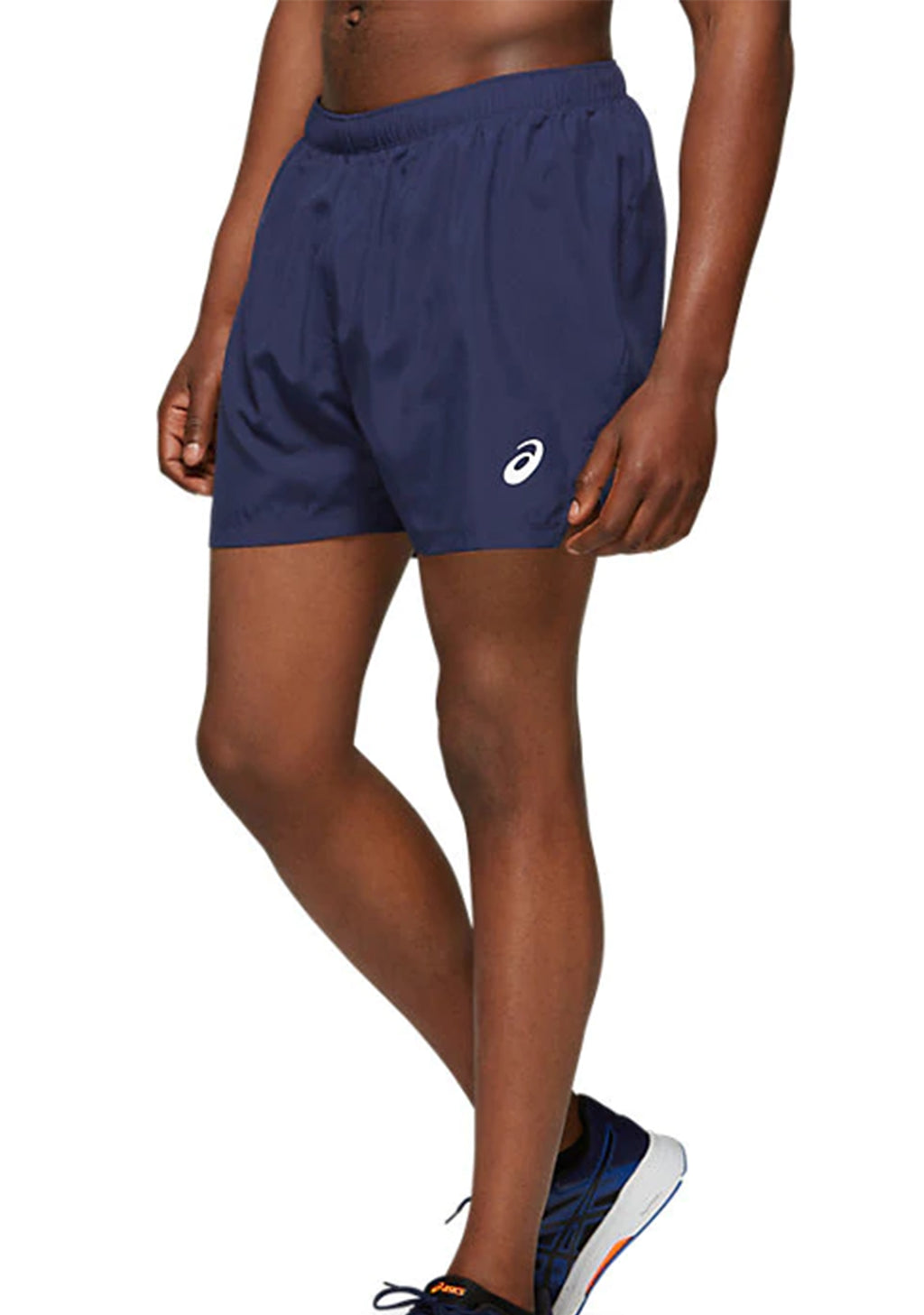 ASICS MENS SILVER 5 INCH SHORTS <BR> 2011A017