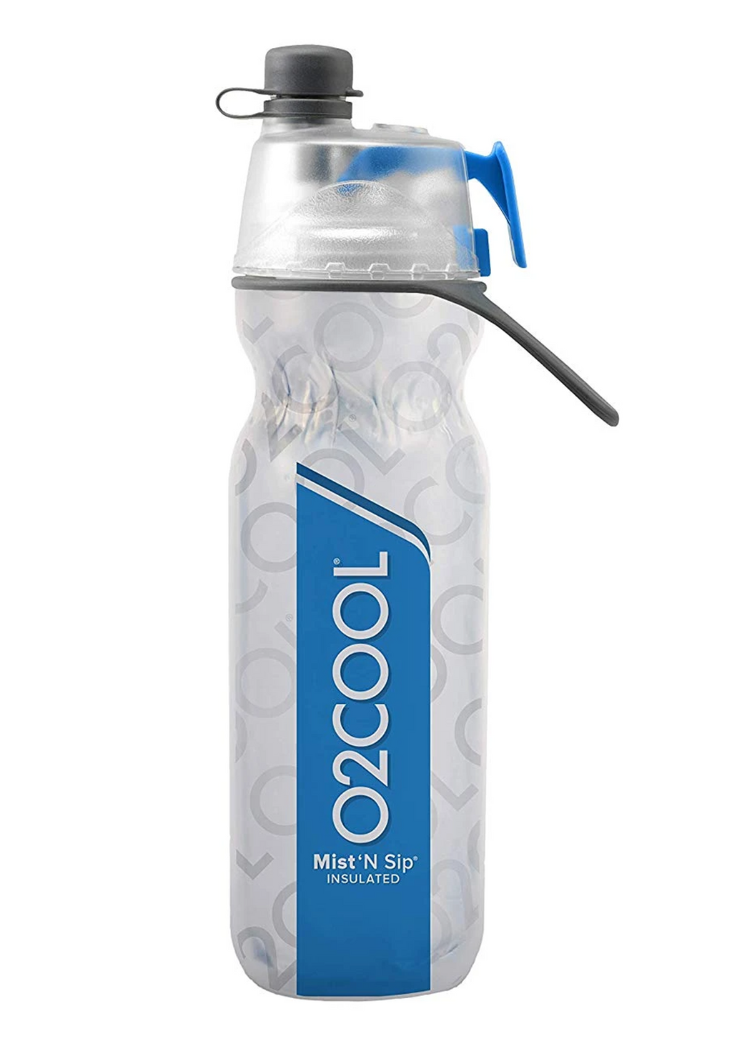 O2COOL MIST 'N SIP DOUBLE INSULATED WATER BOTTLE