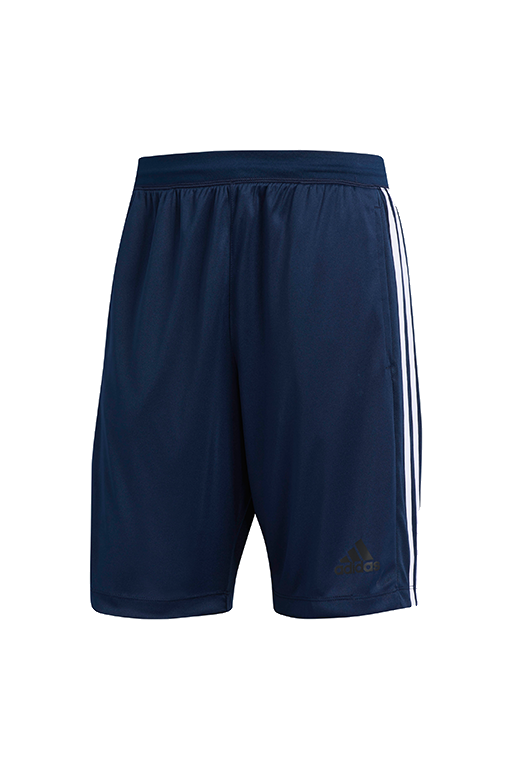 ADIDAS D2M 3S SHORTS MENS DARK BLUE <br> BR1461,- Jim Kidd Sports