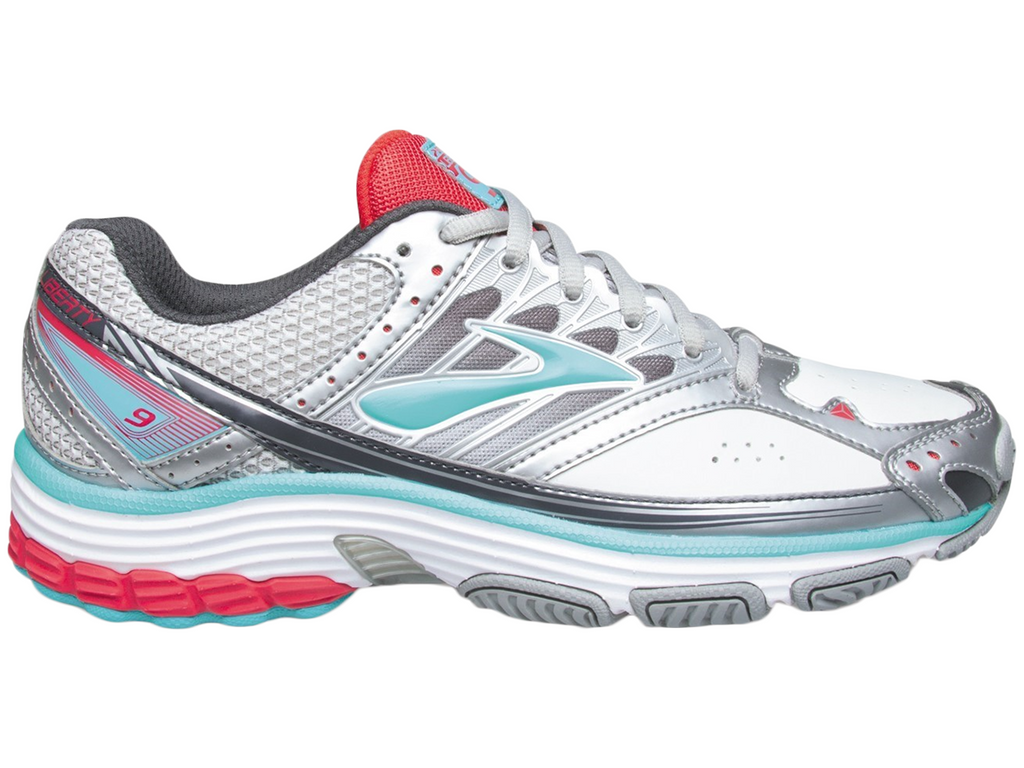 BROOKS WOMENS LIBERTY 9 LEATHER <BR> 120211 1B 107