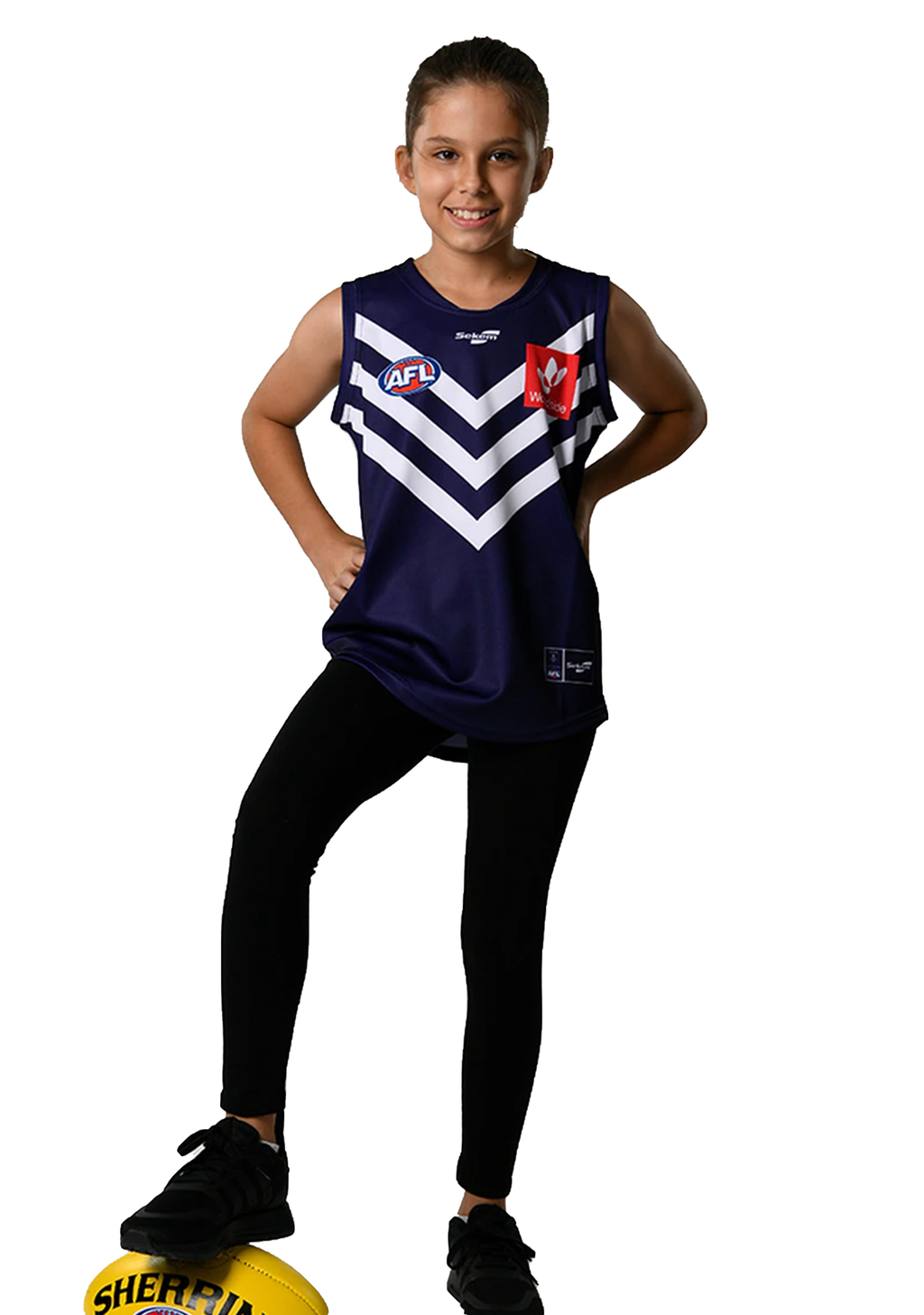 BURLEY SEKEM YOUTH HOME REPLICA JUMPER SS FREMANTLE DOCKERS