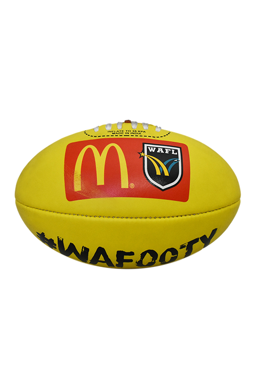 BURLEY WAFL MATCH BALL REPLICA SOFT TOUCH FOOTBALL,- Jim Kidd Sports