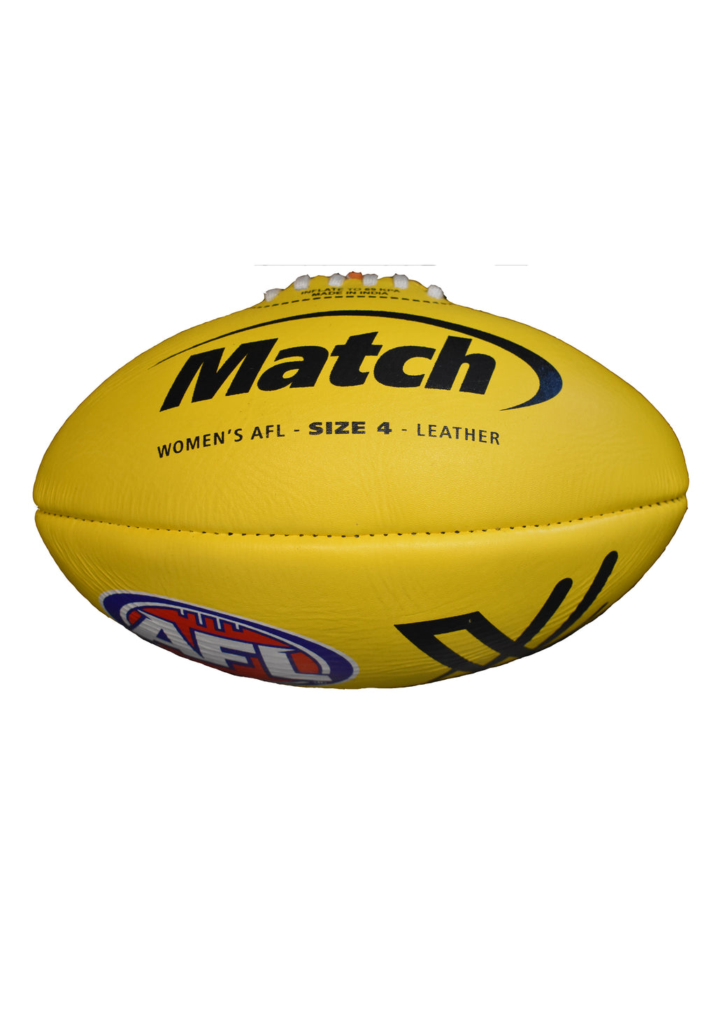 BURLEY WOMENS AFL MATCH FOOTBALL (SIZE 4)