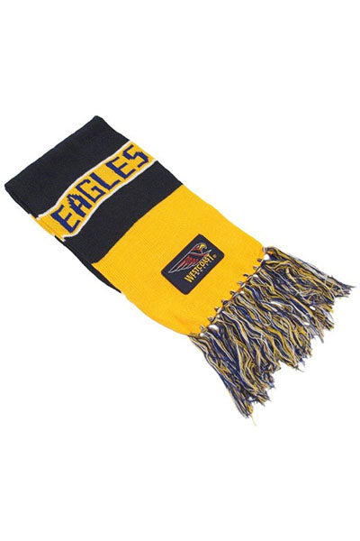 BURLEY SEKEM WEST COAST EAGLES BAR SCARF <br> SCWC