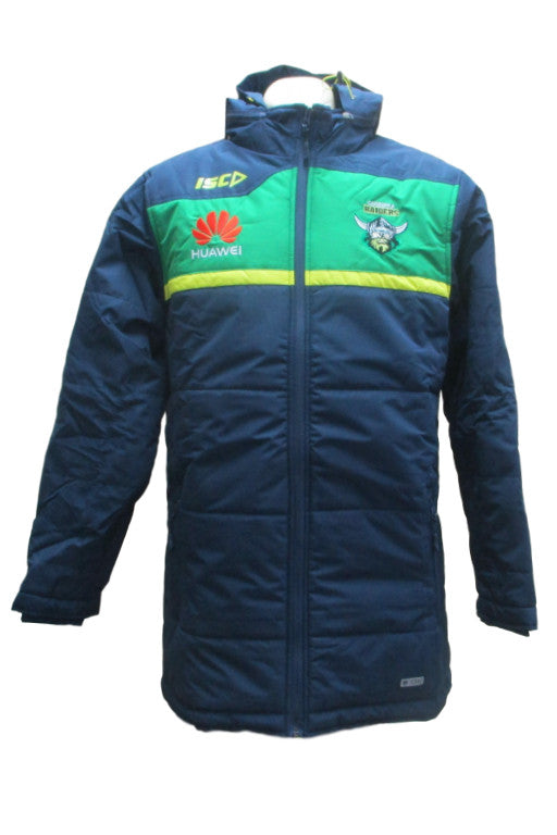 ISC CANBERRA RAIDERS COACHES JACKET MENS <br> 7CR5CJK1A,- Jim Kidd Sports