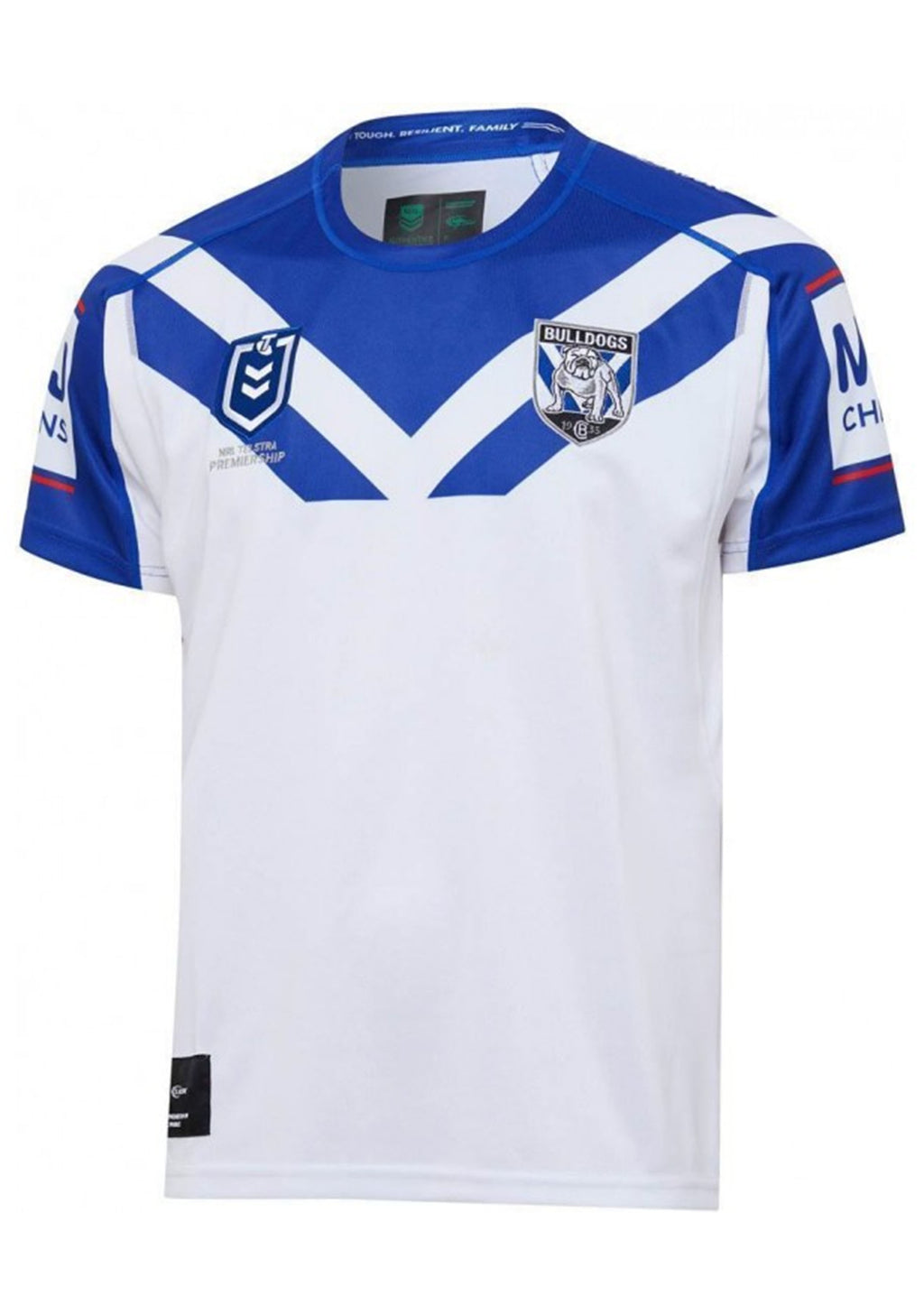 CANTERBURY-BANKSTOWN BULLDOGS 2020 MENS REPLICA HOME JERSEY <BR> BR20MHJ