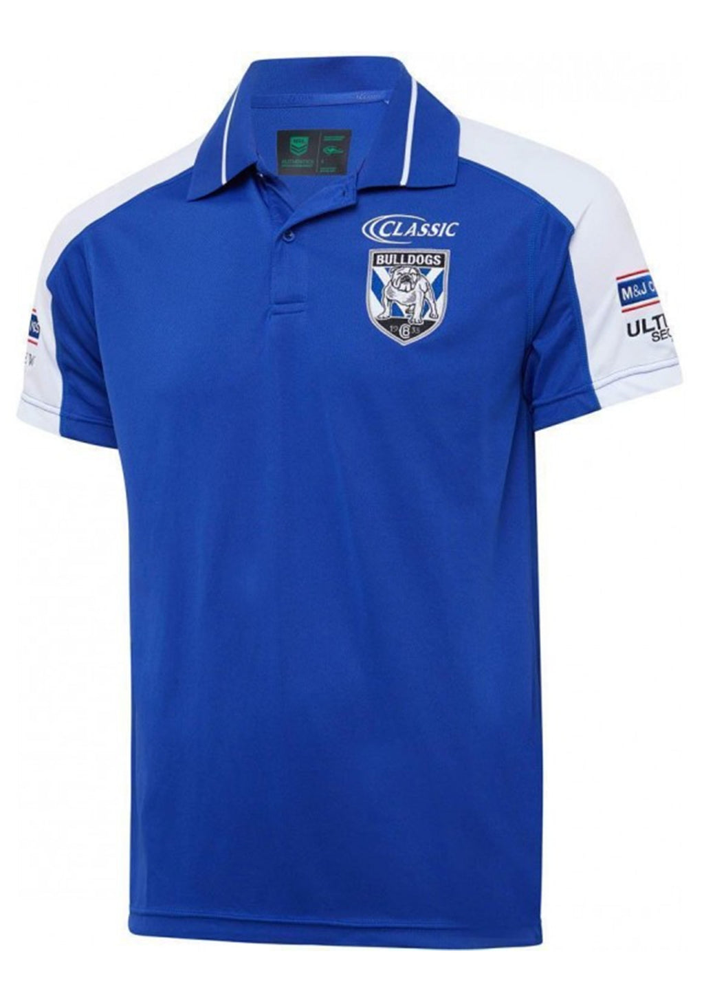 CANTERBURY-BANKSTOWN BULLDOGS 2020 MENS MEDIA POLO <BR> BR20MP1