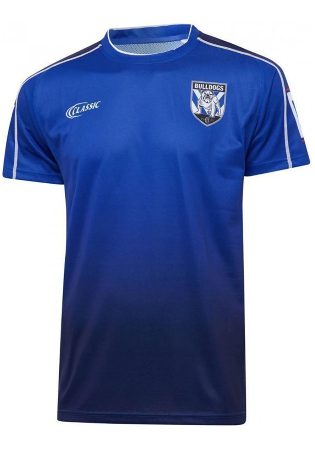 CANTERBURY-BANKSTOWN BULLDOGS 2020 MENS TRAINING TEE <BR> BR20TT1