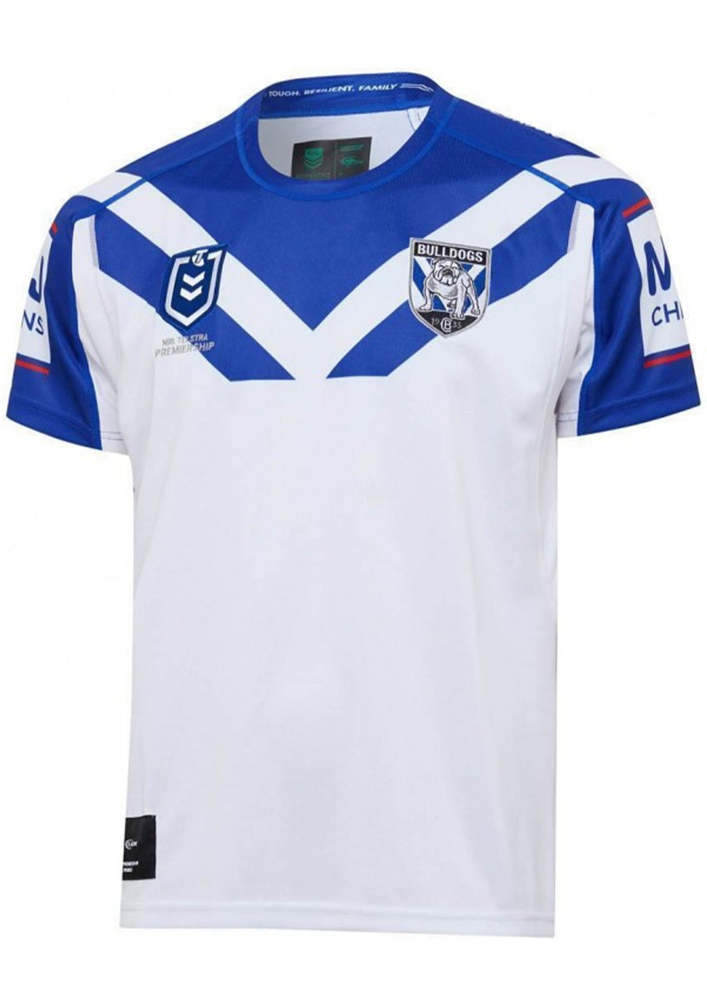 CANTERBURY-BANKSTOWN BULLDOGS 2020 JUNIOR REPLICA HOME JERSEY <BR> BR20YHJ