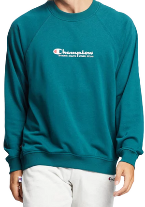 CHAMPION MENS LIGHTWEIGHT TERRY CREW <BR> AWNFN