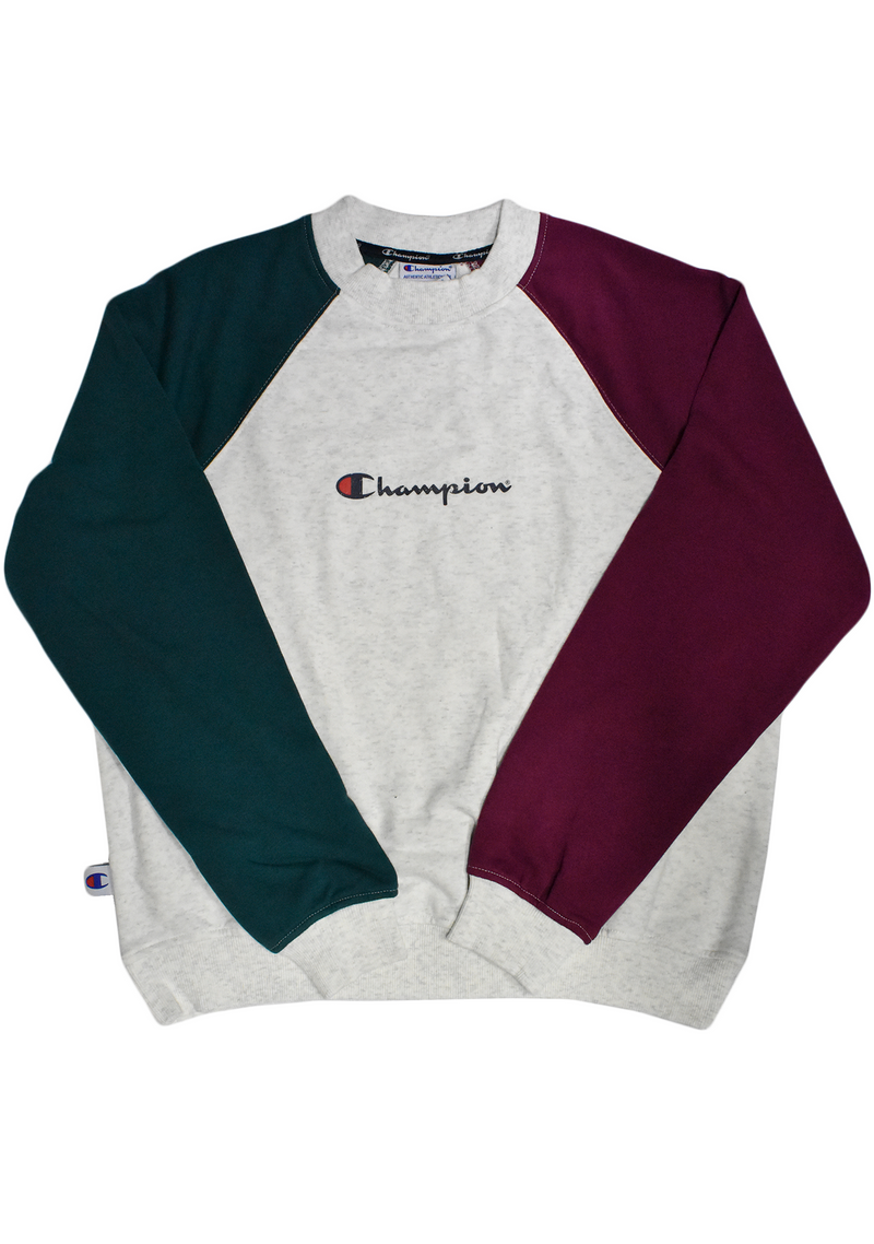 CHAMPION WOMENS FOR THE TEAM CREW <BR> CTYYN KCD LIGHT SNOW MARLE