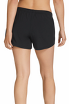 CHAMPION ACTIVE WOVEN SHORTS BLACK WOMENS <br>C1221H 261