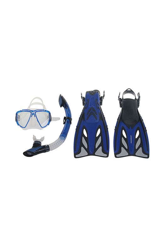 MIRAGE CRYSTAL MASK SNORKEL & FIN SET