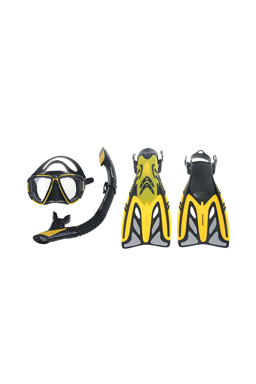 MIRAGE CRYSTAL MASK & SNORKEL SET