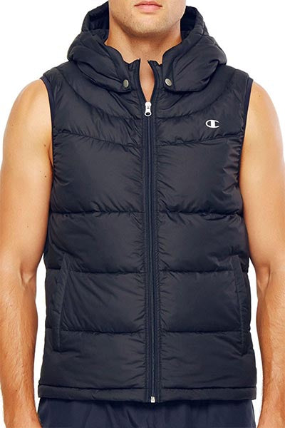 CHAMPION POWERTRAIN PUFFER VEST MENS <br> A1661H