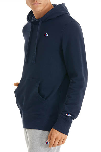 CHAMPION C LOGO HOODIE MENS NAVY <br> A1589H