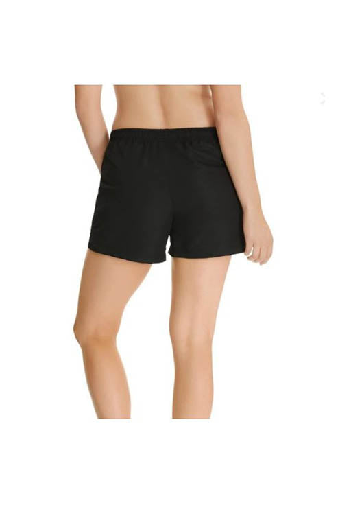 CHAMPION INFINITY MICROFIBRE SHORTS WOMENS BLACK<br> C1385H